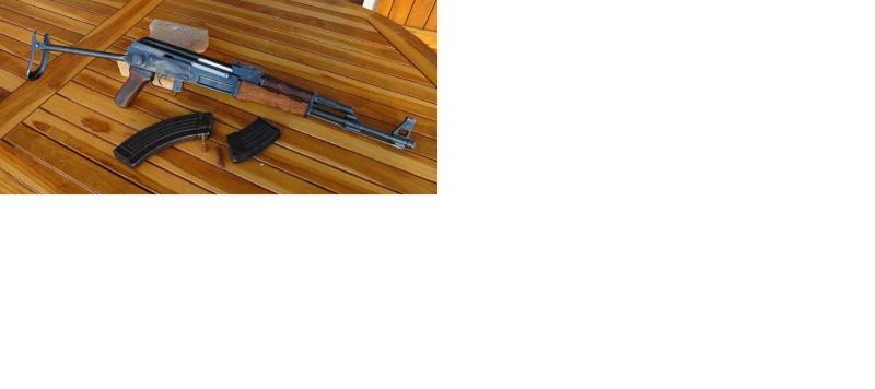démontage garde main sup AKS 47  Aks19510