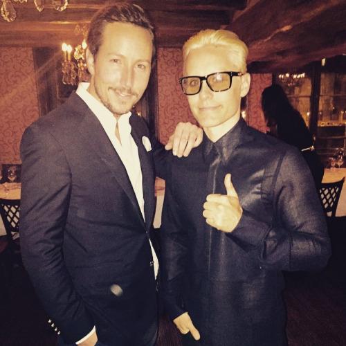 Jared Leto @ After Balmain show dinner 05 Mars 2015 Tumbl111