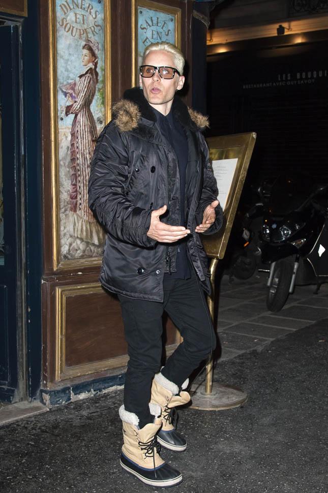 Jared Leto @ After Balmain show dinner 05 Mars 2015 Tumbl118