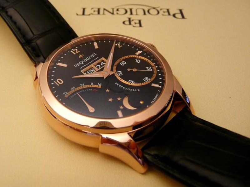 Vos plus belles montres habillées en or rose ou jaune - Page 3 P0910