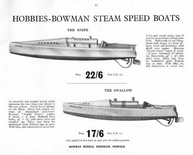 Bowman Canots vapeur Bowman16