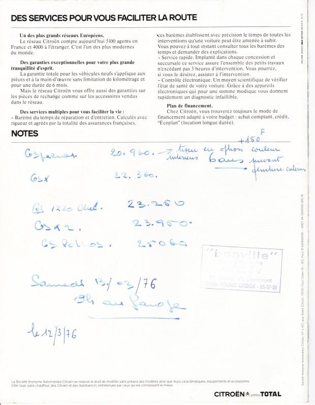 Digressions autour de la gamme (1) : la GSpécial - Page 2 Gs76p110