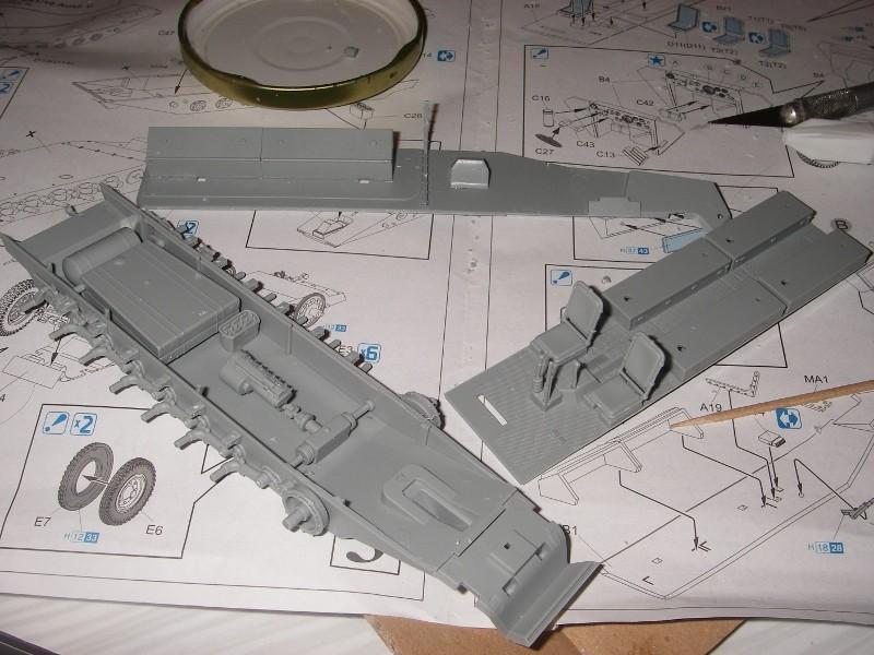 Sdkfz 251 Stuka Zu fuss Dragon 1/35 Imgp2216