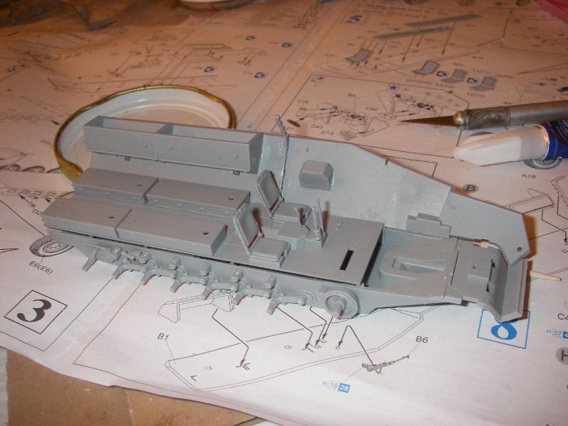 Sdkfz 251 Stuka Zu fuss Dragon 1/35 Imgp2217
