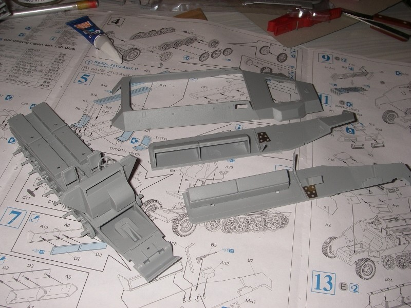 Sdkfz 251 Stuka Zu fuss Dragon 1/35 Imgp2220