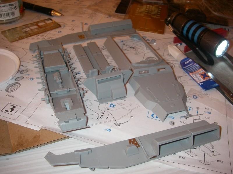 Sdkfz 251 Stuka Zu fuss Dragon 1/35 Imgp2224
