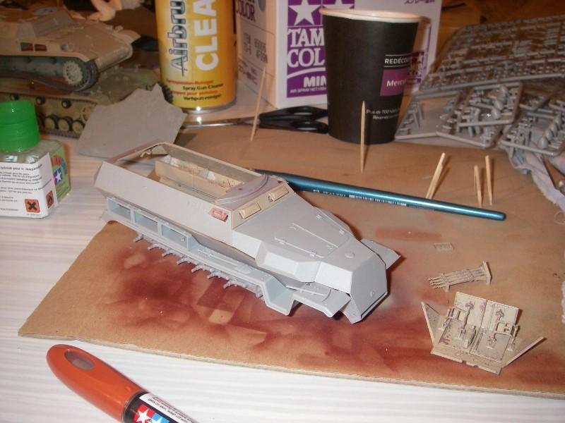 Sdkfz 251 Stuka Zu fuss Dragon 1/35 Imgp2331
