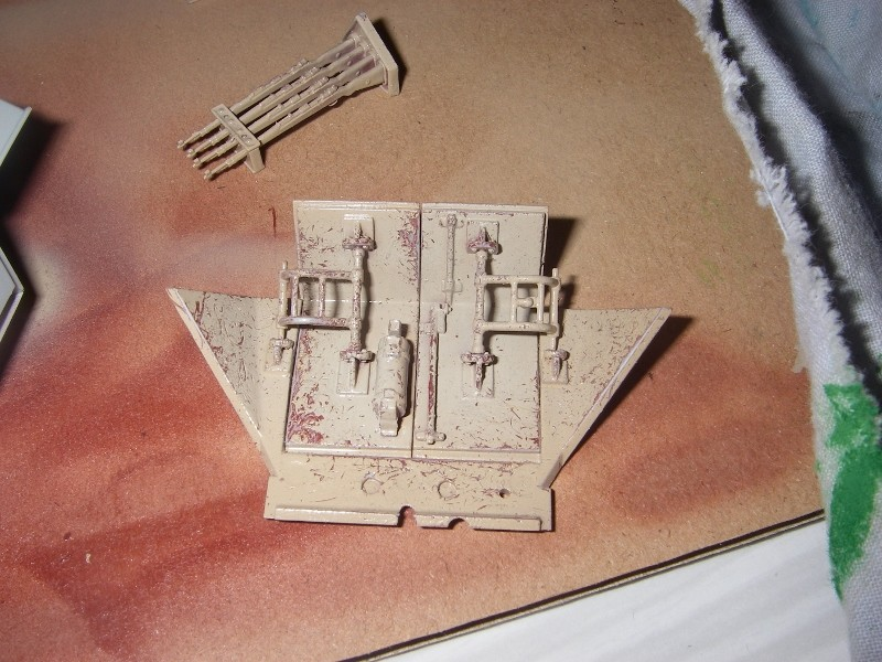Sdkfz 251 Stuka Zu fuss Dragon 1/35 Imgp2332