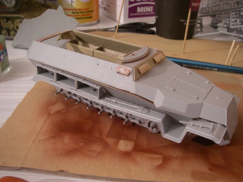 Sdkfz 251 Stuka Zu fuss Dragon 1/35 Imgp2334