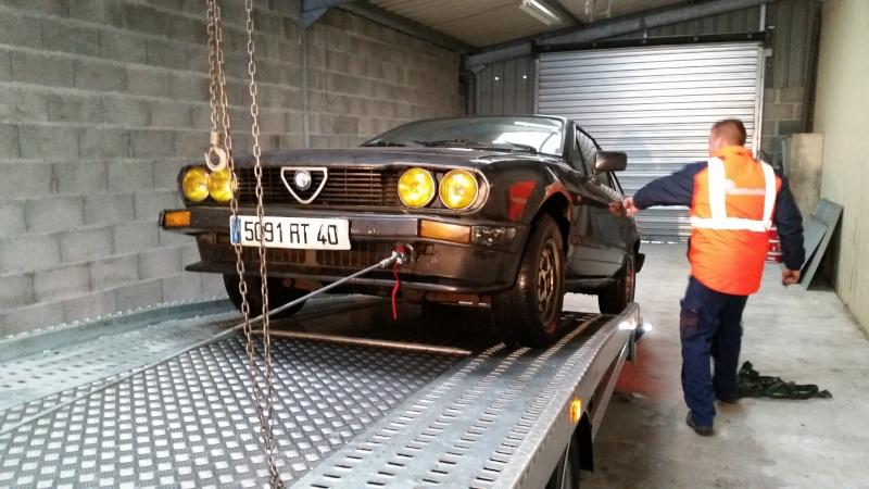 Nos deux Alfetta GTV 2000 de 1983-1984 20150110