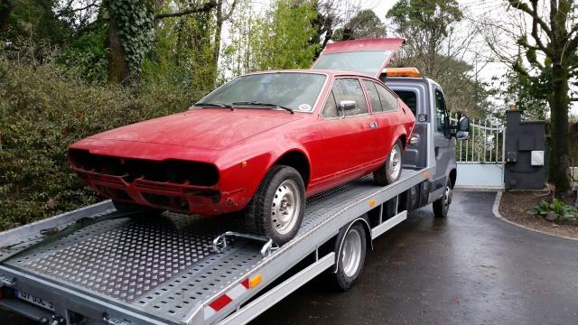 Nos deux Alfetta GTV 2000 de 1983-1984 20150111