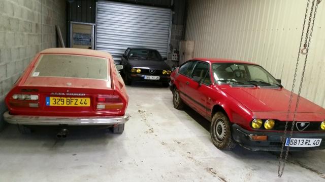 Nos deux Alfetta GTV 2000 de 1983-1984 20150112