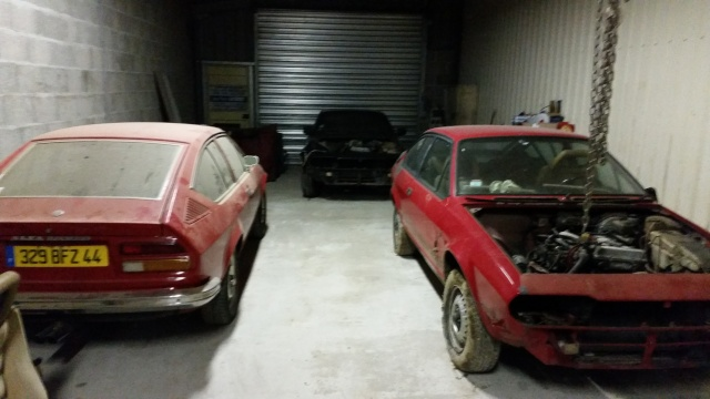 Nos deux Alfetta GTV 2000 de 1983-1984 20150113