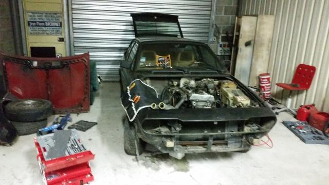 Nos deux Alfetta GTV 2000 de 1983-1984 20150114