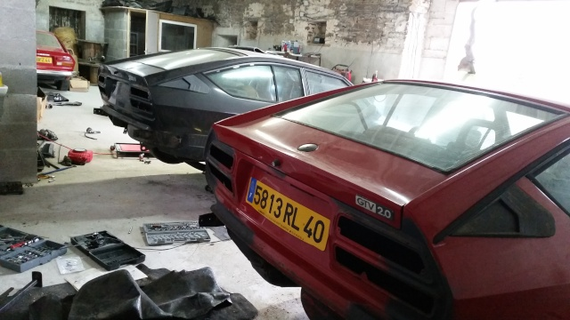 Nos deux Alfetta GTV 2000 de 1983-1984 20150117