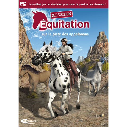 CD-Rom ''Mission Equitation 12540410