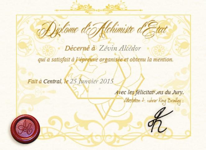 Examen d'alchimiste d'état Zévin Alcédor 14221910