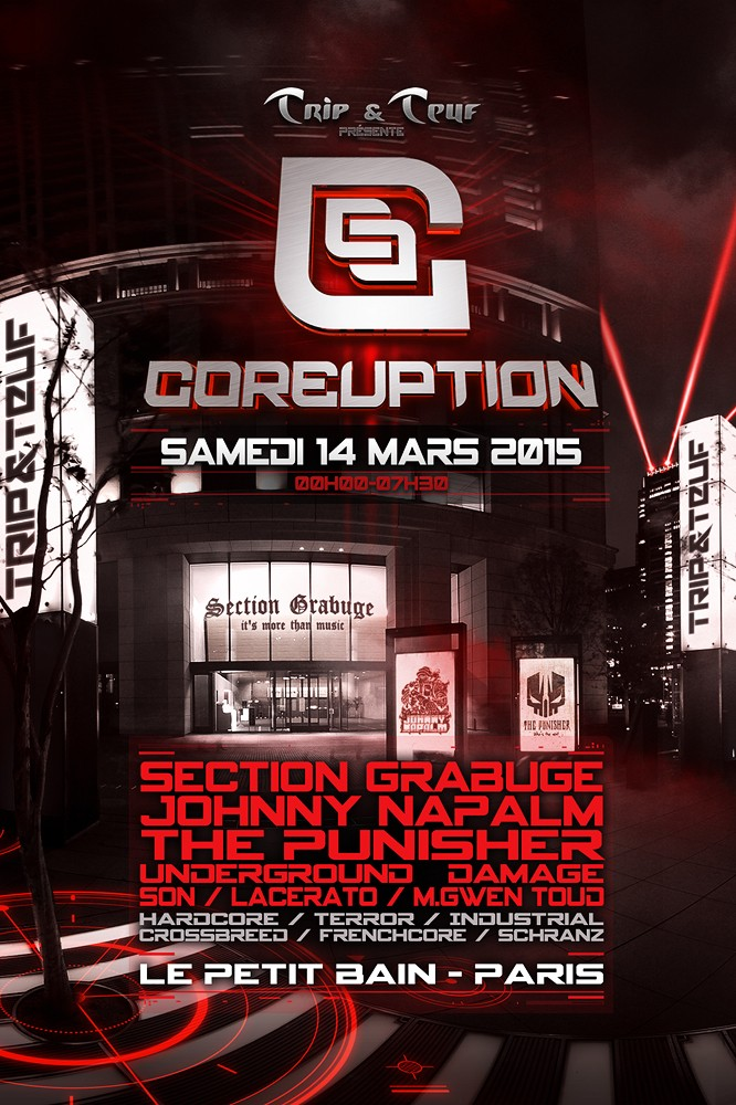 [ COREUPTION - 14 Mars 2015 - Le Petit Bain - Paris - FR ] Coreup12