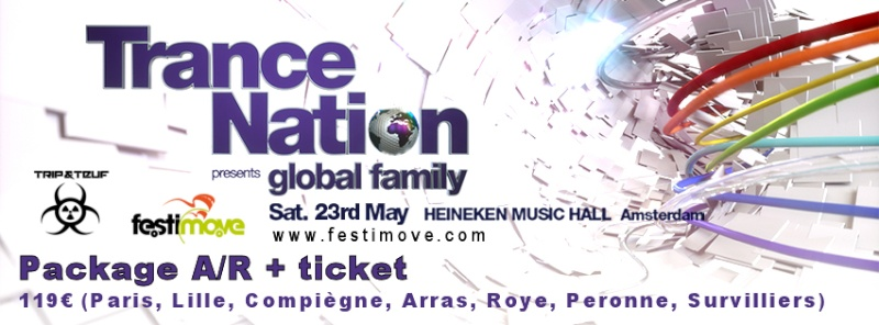 [ TRANCE NATION - 23 MAI 2015 - Heineken Music Hall - Amsterdam - NL ] Cover_10