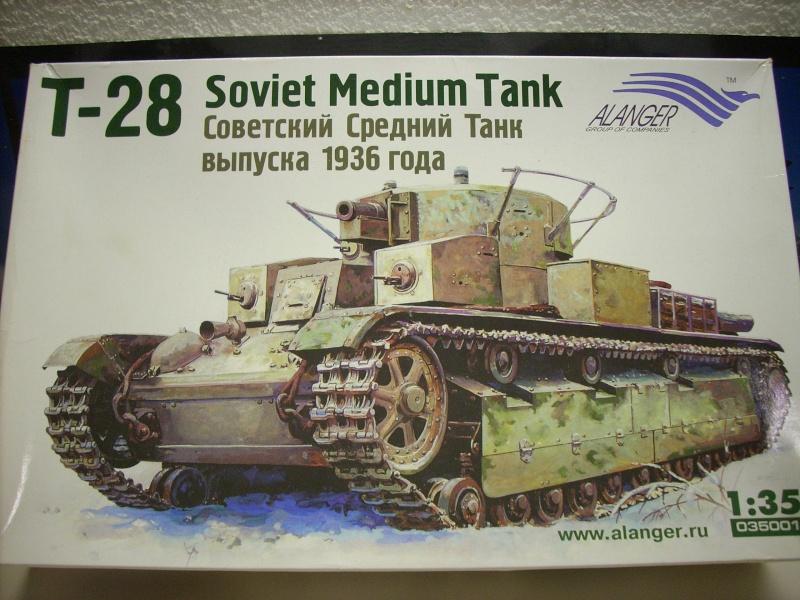 T 28 modèle 1936 - Alanger 1/35 T28-110