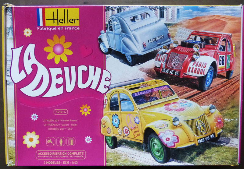 [Heller] Les 'tites auto Heller Deuche34