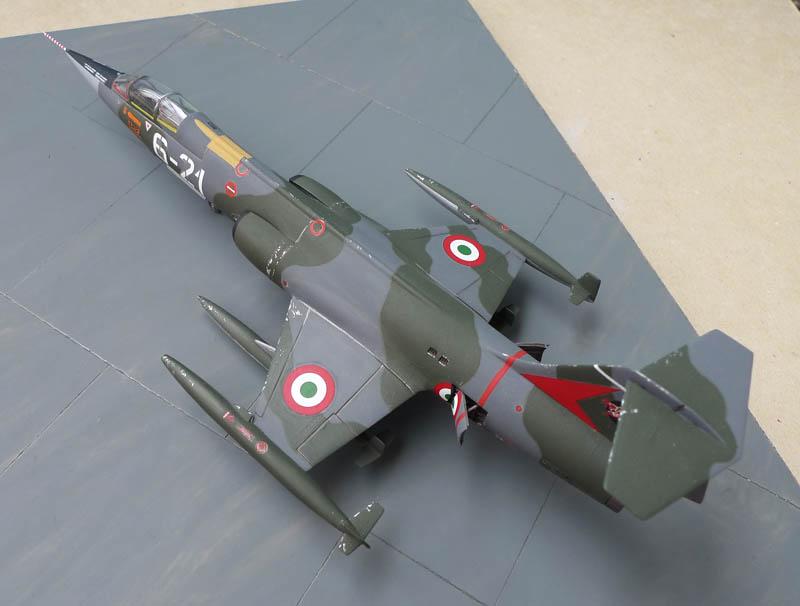 F 104 Starfighter... à la sauce Italienne. F104_012