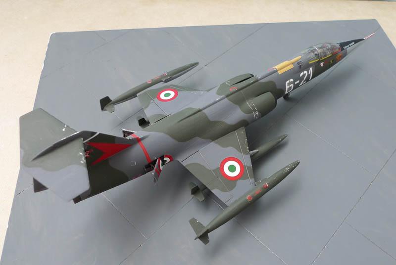 F 104 Starfighter... à la sauce Italienne. F104_013