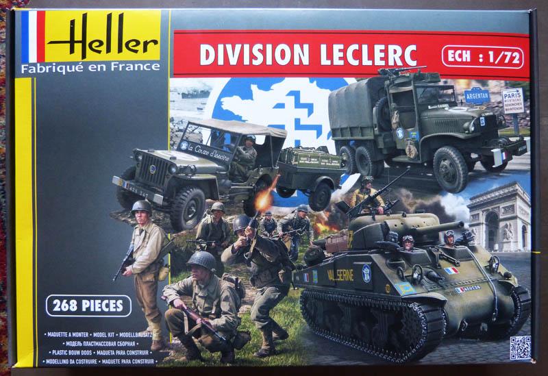 """Coffret """"Division Leclerc"""" - 1/72. Lecler10"""