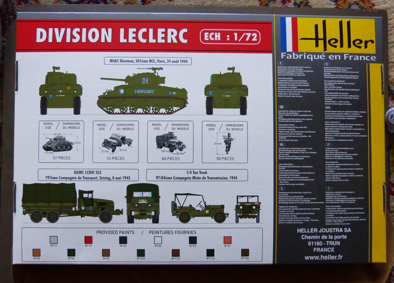 """Coffret """"Division Leclerc"""" - 1/72. Lecler11"""