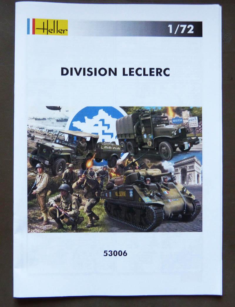 """Coffret """"Division Leclerc"""" - 1/72. Lecler16"""