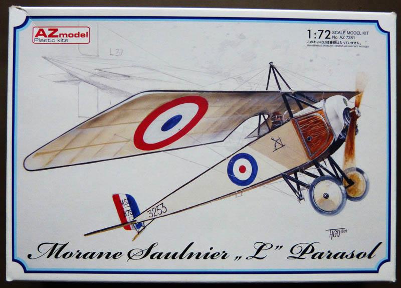 """[1915] [AZ Model] Morane L """"Parasol"""" - Première victoire de Guynemer. Morane10"""