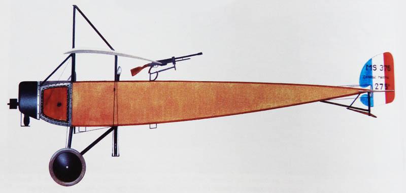 """[1915] [AZ Model] Morane L """"Parasol"""" - Première victoire de Guynemer. Morane13"""