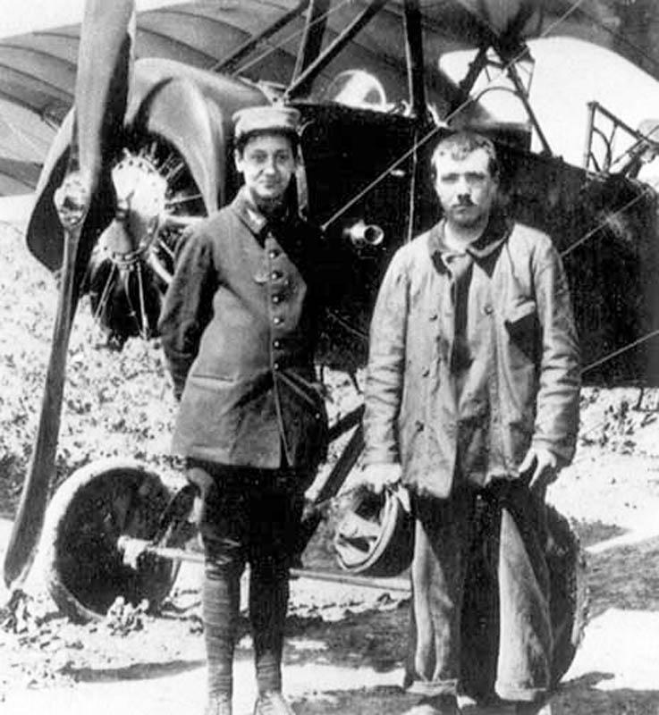 """[1915] [AZ Model] Morane L """"Parasol"""" - Première victoire de Guynemer. Morane14"""
