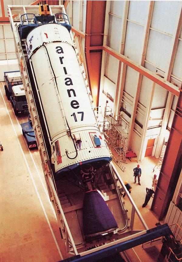 Photos des tirs d'Ariane avant la création du FCS 1986_v11