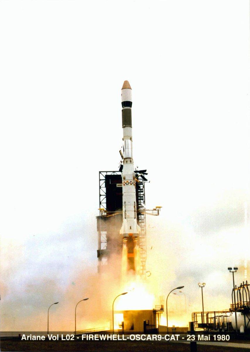 Photos des tirs d'Ariane avant la création du FCS Dahekf10