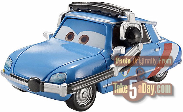 Pixar and The cars Caroul10
