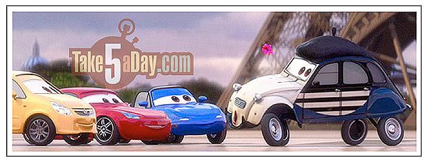 Pixar and The cars Paris-10