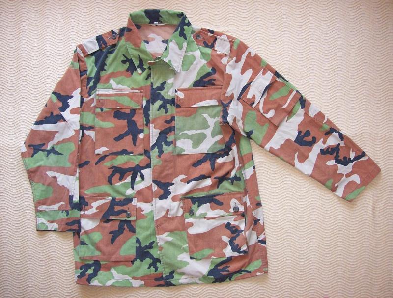 Serbian of Bosnian and Srpska repubic camouflage 100_0115