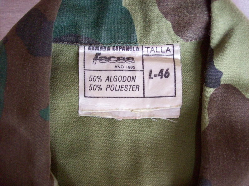 "Various Spanish Army ""Woodland"" uniforms 100_8213"