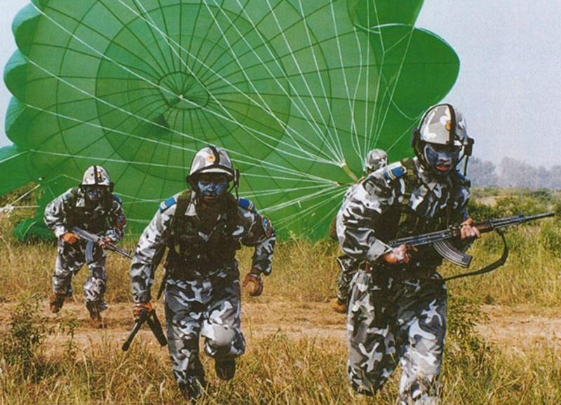 Type 99 Airborne Urban Camo uniform Chine-10