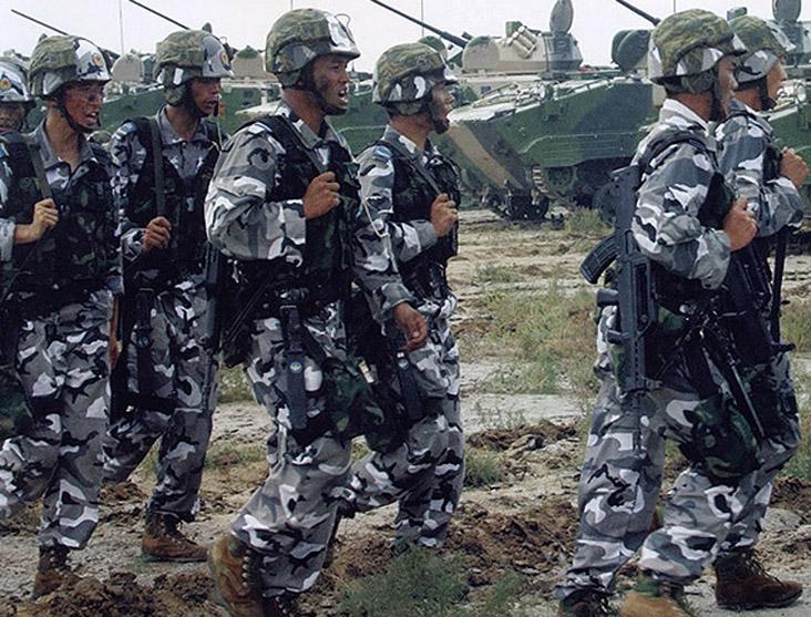 Type 99 Airborne Urban Camo uniform Chine-11