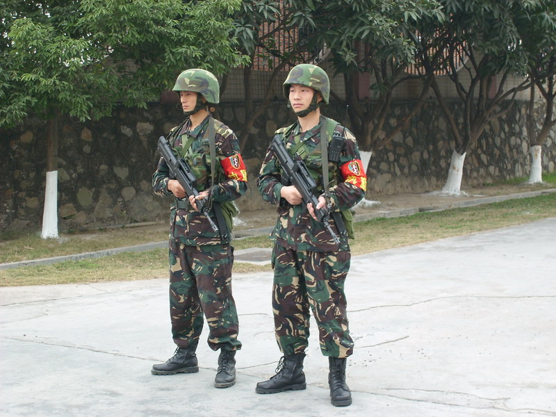 PLA Type 03 Special Forces DPM uniform Chine-15