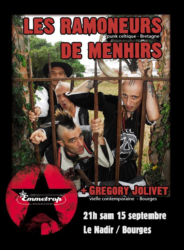 15/09/2012 Ramoneurs de Menhirs + Greg Jolivet / Emmetrop Flyer-11