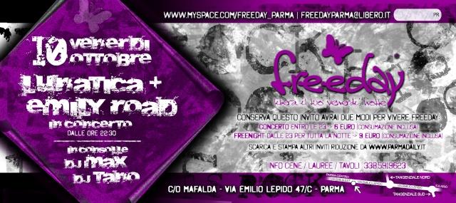 """Invito Riduzione x """"Freeday"""" Retrof11"""