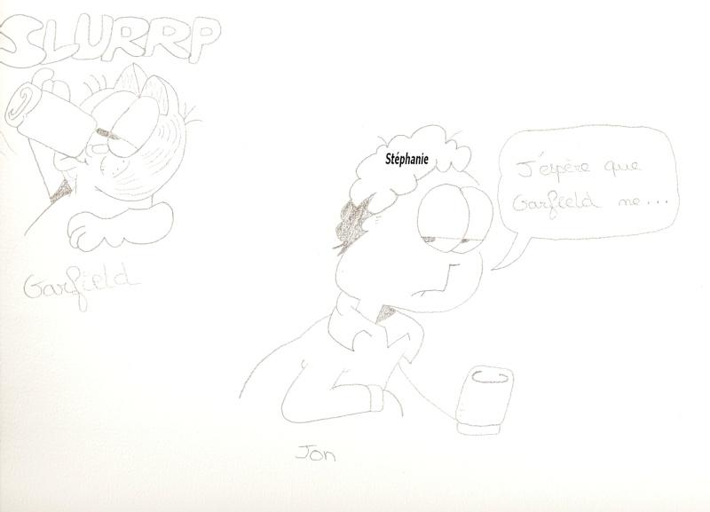 Dessins  Garfield Dessi210