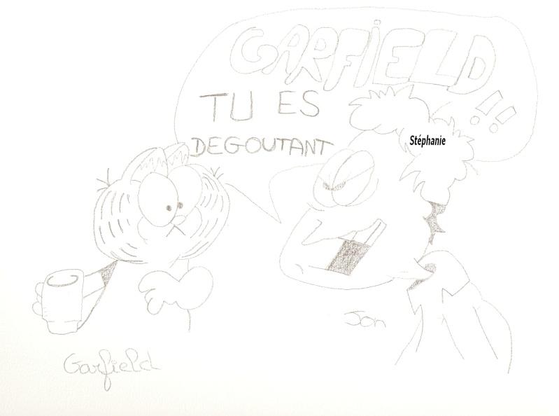 Dessins  Garfield Dessi213