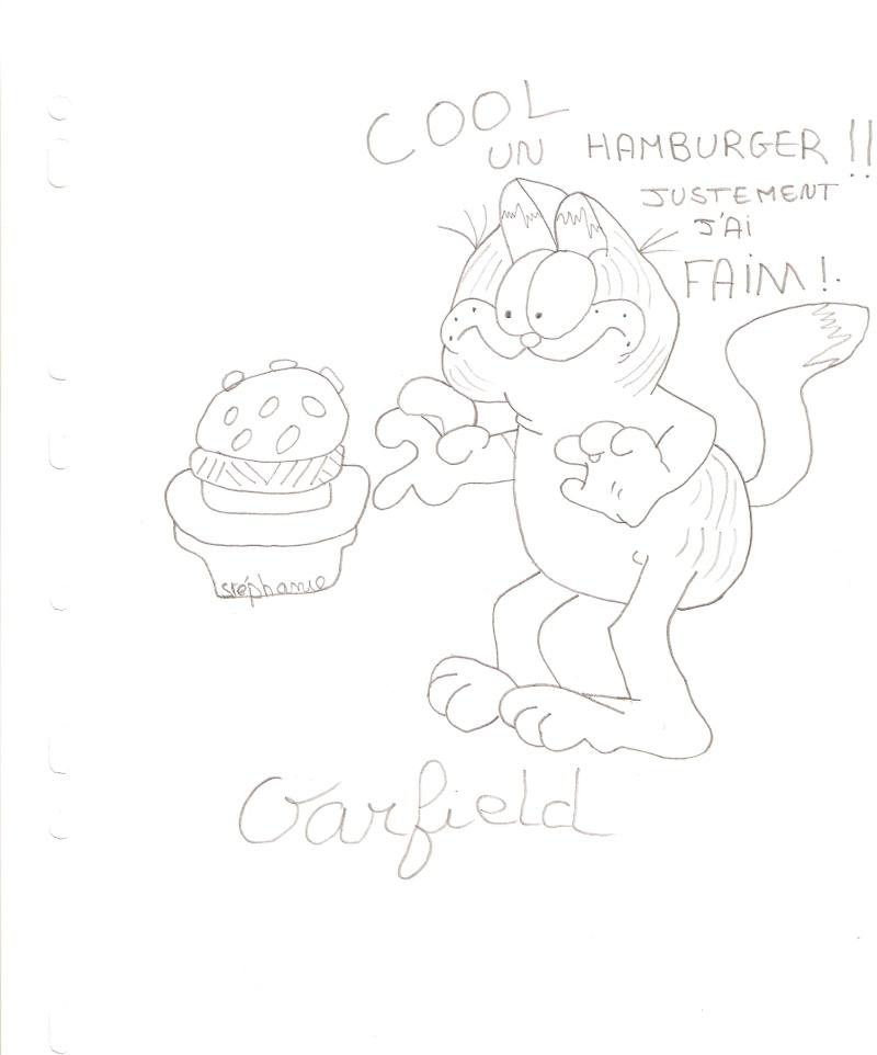 Dessins  Garfield Dessi216