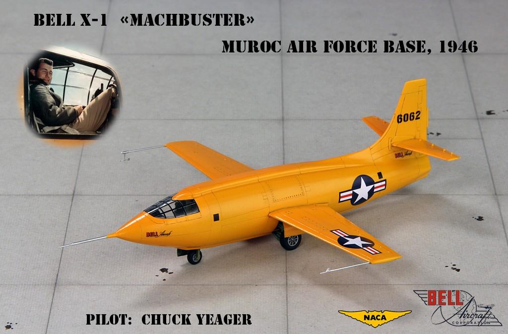 "Bell X-1 ""Machbuster"" (1:72 Tamiya + P.E. Brengun) Img_0811"