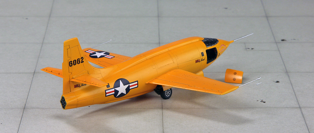 "Bell X-1 ""Machbuster"" (1:72 Tamiya + P.E. Brengun) Img_0821"