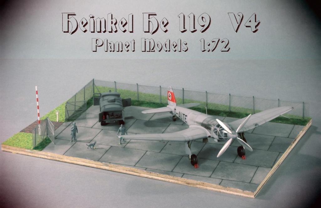 Heinkel He 119 - Heinkel He 119 V4 (Planet Models 1:72) - Page 3 Img_3031